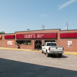 Casey's Rossville Exterior