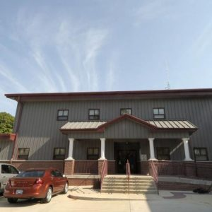Downs Fire Station Exterior