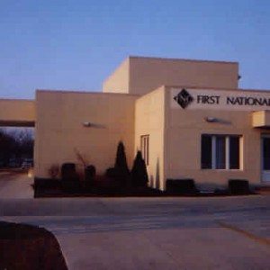 First National Bank Exterior