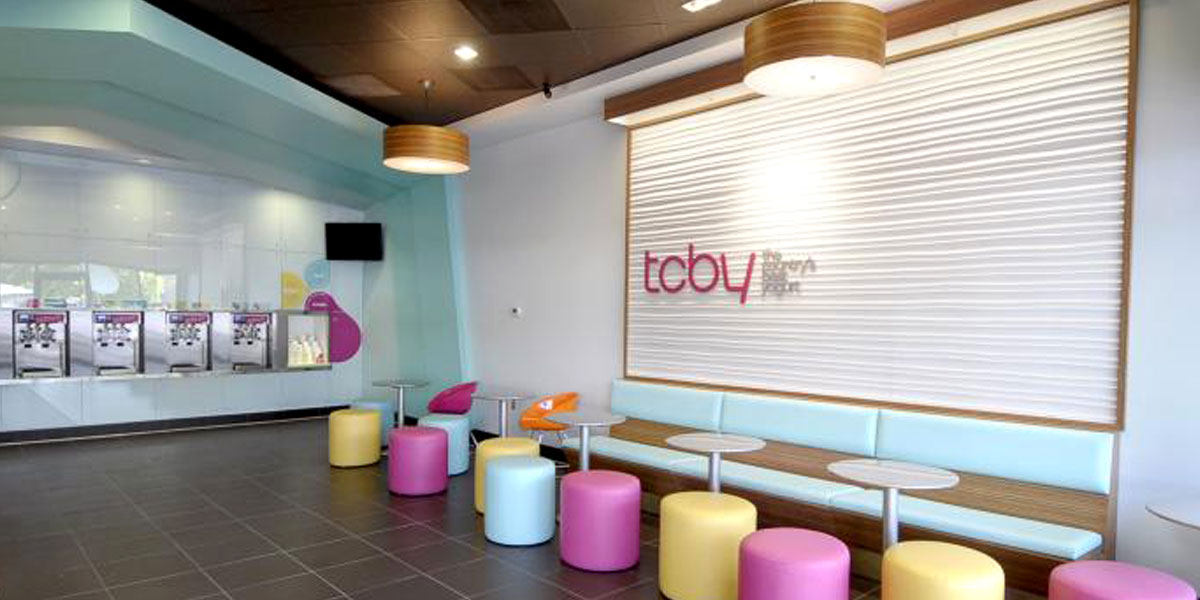 TCBY Building Interior